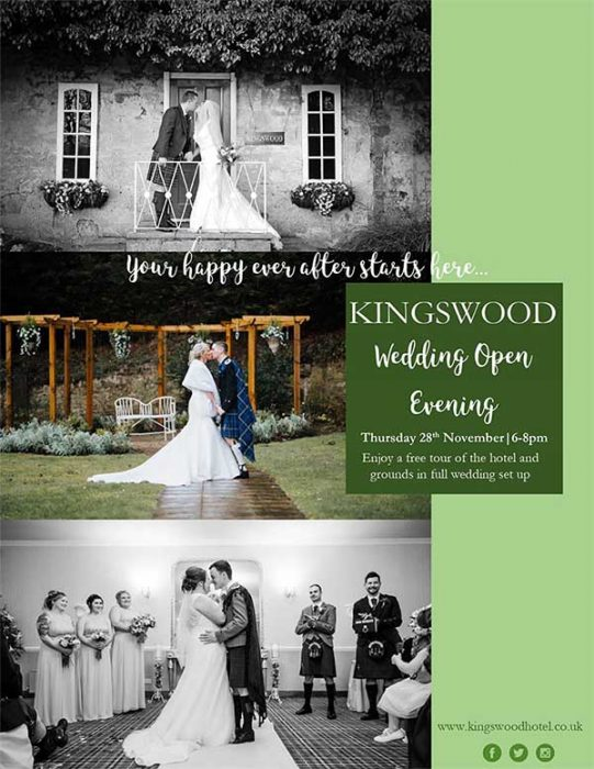The Kingswood Hotel Open Evening 28th November 2019