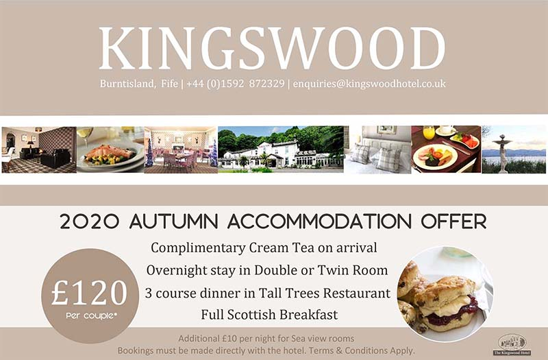 The Kingswood Hotel Autumn Accommodation Offer 2020