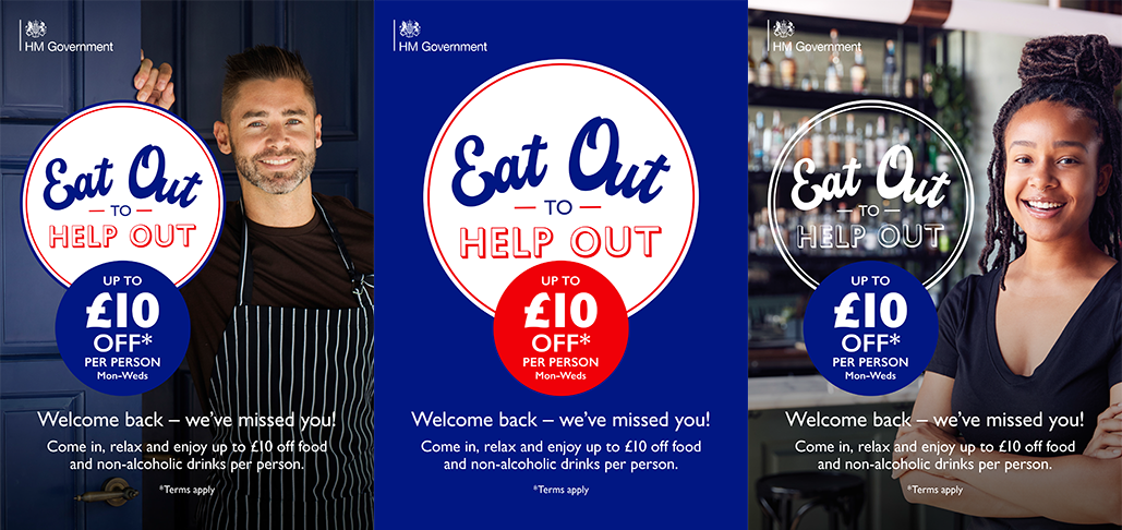 The Kingswood Hotel in Burntisland Fife is taking part in the government Eat Out to Help Out scheme.