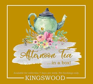 Tall Trees Restaurant Burntisland Fife Afternoon Tea in a Box!