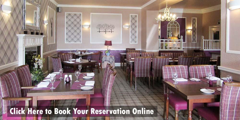 Reserve your table online at The Kingswood Hotel Restaurant Burntisland Fife