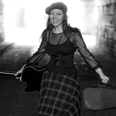 Elsa Jean McTaggart Christmas Show at The Kingswood Hotel Burntisland Fife.