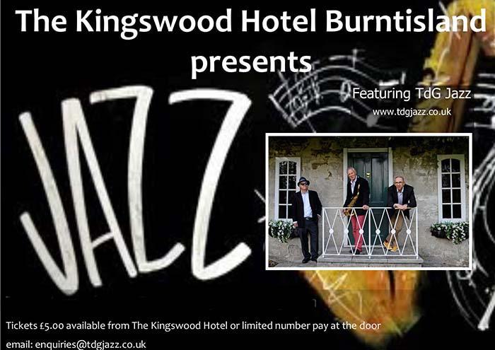 Sunday Jazz at The Kingswood Hotel