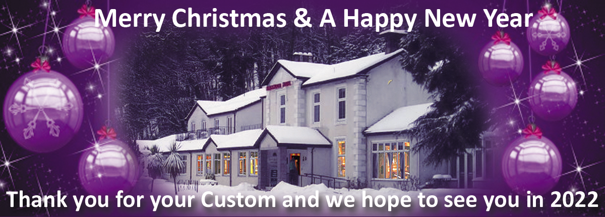 Merry Christmas and a Happy New Year from The Kingswood Hotel.